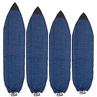 Surfing6-7ftSurfboardSock4Размеры доски для серфинга Вязание Растяжка махровая Мягкая Quick-Dry Сумка