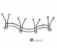 Крючок хромированный, силиконовый наконечник - 4