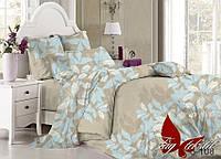 Комплект постельного белья сатин двуспальный TM Tag108