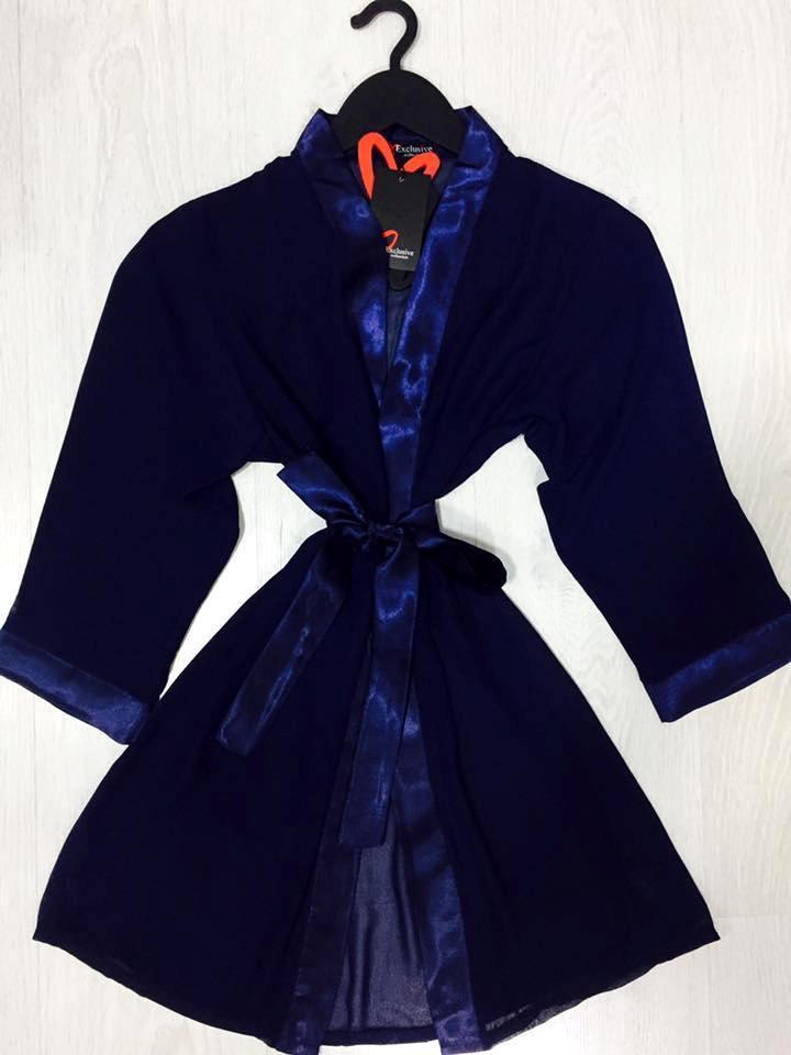Женское  белье , шифоновый  халат