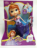 Кукла Принцесса София Русалка  ZT9944 Китай