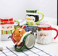 Творческий рождественский подарок Керамический Чай Кружки Кувшины для воды и кружки Кубок с фарфором