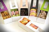Коробка для Macarons с окошком персик, фото 2