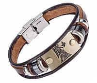 Кожаный браслет Primo Zodiac - Virgo (Дева)