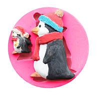 Пищевой сорт Силиконовый Формочка для выпечки DIY Печенье с чокальной выпечкой Ледяной поднос для выпечки Инструмент Форма пингвинов