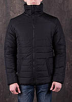 Стеганая зимняя куртка мужская DarkSide с высоким воротником
