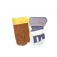 Перчатки замшевые рабочие
