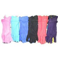 Перчатки женские флисовые