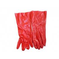 Перчатки из плотной резины на тканевой основе