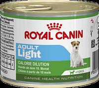 Royal Canin (Роял Канин) ADULT LIGHT WET консерва для взрослых собак мелких пород склонных к избыточному весу, 195 г