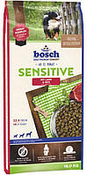 Сухой корм для собак Бош сенсетив ягненок с рисом (Bosch Sensitive Lamb & Rice), большая упаковка 15 кг