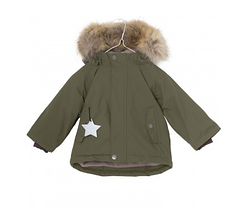 Детская зимняя куртка с меховой отделкой (1-5), Mini A Ture Wally Fur
