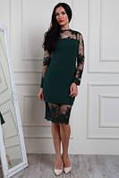 Изумительное платье. Платья праздничные. Изысканное, шикарное платье с французским кружевом, фото 1