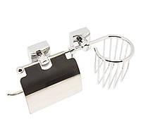 Держатель для туалетной бумаги с освежителем воздуха