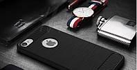 Чехол Бампер Carbon для Iphone 6 Plus / 6s Plus оригинальный Black