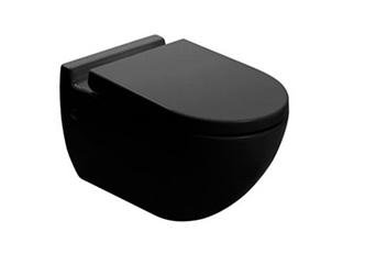 Чаша подвесного унитаза NEWARC Modern (3823B) черный
