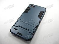 Противоударный чехол LG Q6 / Q6a (темно-синий)