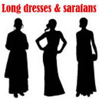 Довгі сукні та сарафани