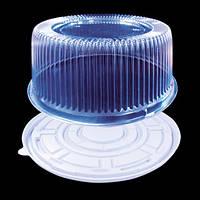 Упаковка для круглого торта 1224 ПЕТ потовщенний