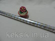 Пленка упаковочная прозрачная с надписью