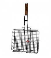 Гриль решетка барбекю глубокая 31*25*5.5см