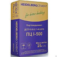 Цемент ЕU ПЦ I/ПЦ-500-Н 25кг Хайдельберг 1/64