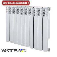 Радиатор алюминиевый GRUNHELM - GR500-80AL (10 секций) (1700 Вт) (батарея отопления)