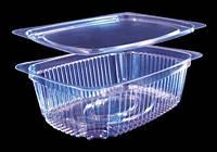 Упаковка для салатов с крышкой 2200 /(220мл)/250шт/ ПЕТ