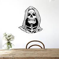 Hallowen Witch Череп Гладкий оконный декор настенный стикер Party House Домашнее украшение