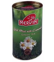 Чай Мервин Mervin зеленый с жасмином 100 гр Зеленый чай с мятой и ромашкой