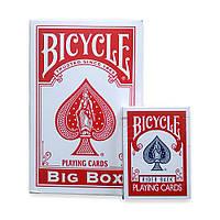 Покерные карты Bicycle Big Box (формат А5)