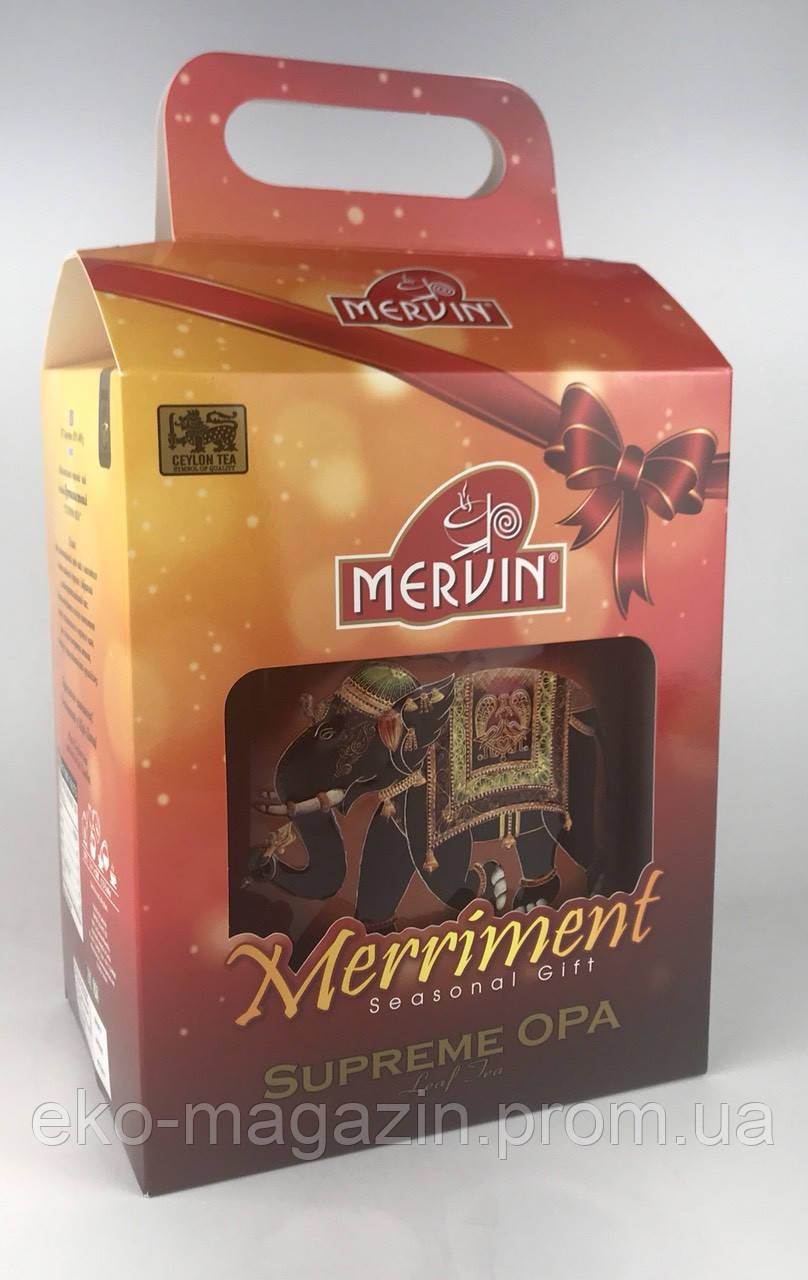 Чай Мервин ОРА 400гр,  ж/б