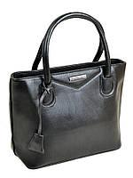 Черная классическая сумка из искусственной кожи, фото 1