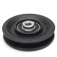 90 мм Nylon Подшипниковое колесо шкива 3.5 Кабель Спортзал Фитнес Часть оборудования
