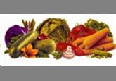 Кружка эмалированная с крышкой (1 л) Epos Кремовый осенний урожай, арт. 0207/2Кр