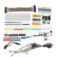 Электронные компоненты Junior Набор с резистором Макетная Блок питания для Arduino с пластиковым корпусом Коробка