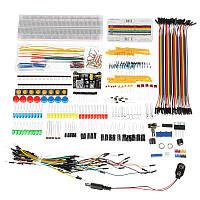 Электронные компоненты Super Набор с модулем питания Резистор Dupont Провод для Arduino с пластиковым пакетом Коробка