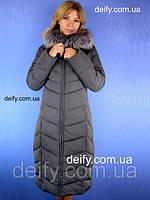 Женское пальто, пуховик на тинсулейте Symonder 7090 (48-56) Пальто Peercat, Hailuozi, Mishele, Clasna, Damader