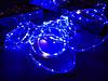 Гирлянда уличная светодиодная лента синяя LED 5 метров, фото 5