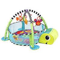Младенческая малыш Baby Play Set Activity Спортзал Playmat Floor Rug Kids Toy Коврик для новорожденных Малыш для малышей