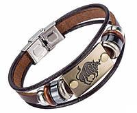 Кожаный браслет Primo Zodiac - Taurus (Телец)