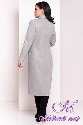 Женское зимнее пальто с капюшоном и поясом (р. S, М, L) арт. Габриэлла 4151 - 20313, фото 2