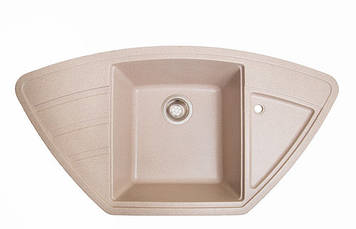 Кухонна мийка JORUM 98B BEZHVY (401), 98х51х22 см, Безкоштовна Доставка