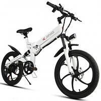 Электровелосипед KJING (белый)