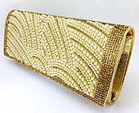 Вечірній Клатч Gold ZPT-1056