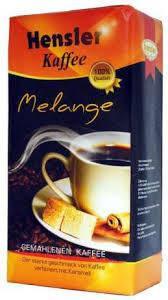 Кофе молотый Hensler Melange 500г