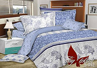 Комплект постельного белья сатин евро TM Tag 052