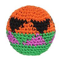 На открытом воздухе Игры Handmade Hacky Sacks Footbag Волшебный Игрушка Juggling Ball Случайная 5.5cm