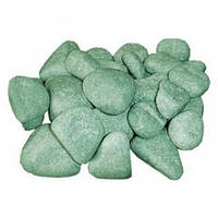 Камень для бани Жадеит шлифованный - 20 кг