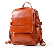 Модный женский кожаный рюкзак Grays GR-8128LB